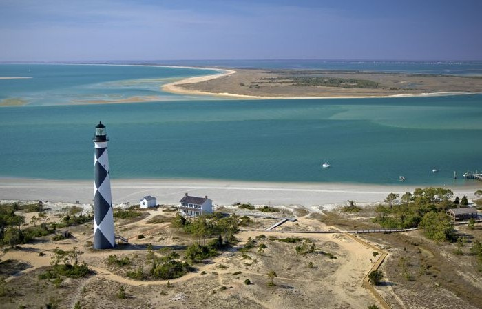 Outer banks biplane and cessna air tours barrier island for Outer look of house